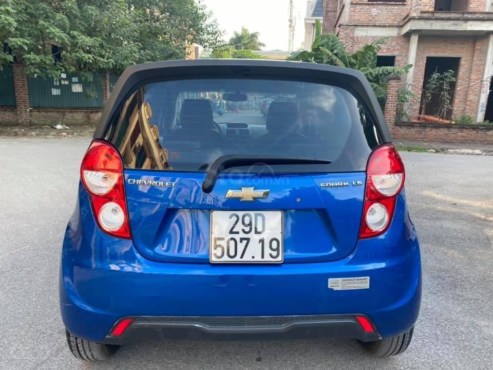 Cá nhân bán xe Chevrolet Spark SX 2016, màu xanh (4)