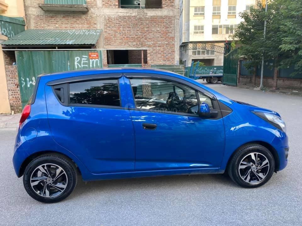 Cá nhân bán xe Chevrolet Spark SX 2016, màu xanh (1)