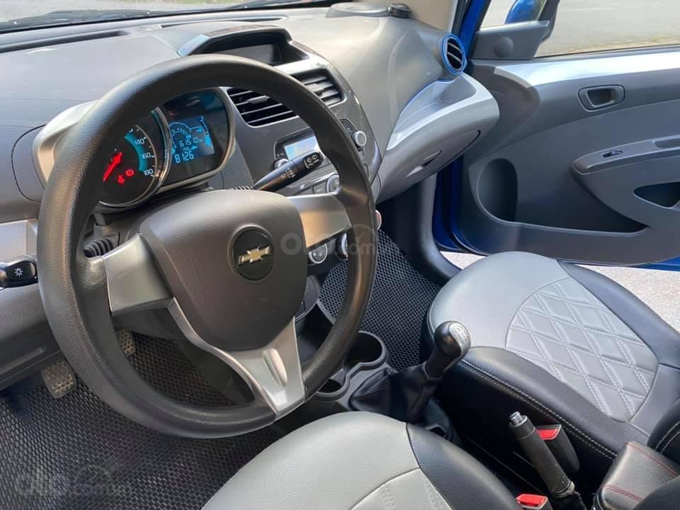 Cá nhân bán xe Chevrolet Spark SX 2016, màu xanh (7)