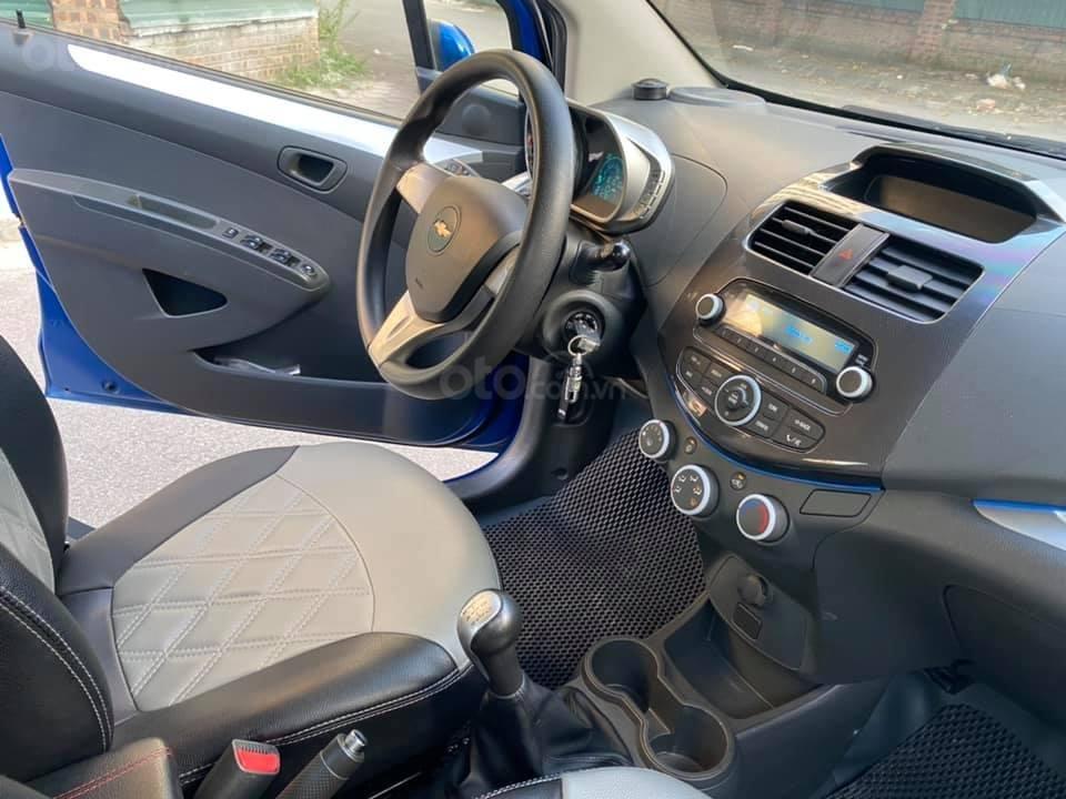 Cá nhân bán xe Chevrolet Spark SX 2016, màu xanh (8)