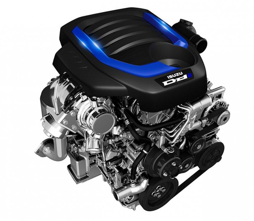 Isuzu D-Max 2021 X-Series tích hợp đầu máy diesel 1,9 lít.