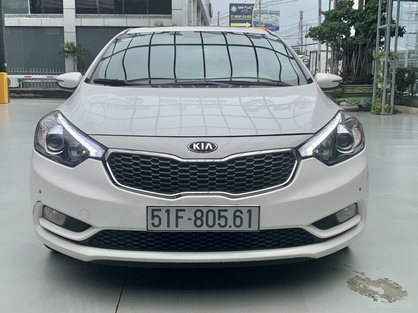 Chính chủ bán Kia K3 1.6AT sx 2016 tự động biển sài Gòn, không dịch vụ xe cực đẹp bao test tại hãng (1)