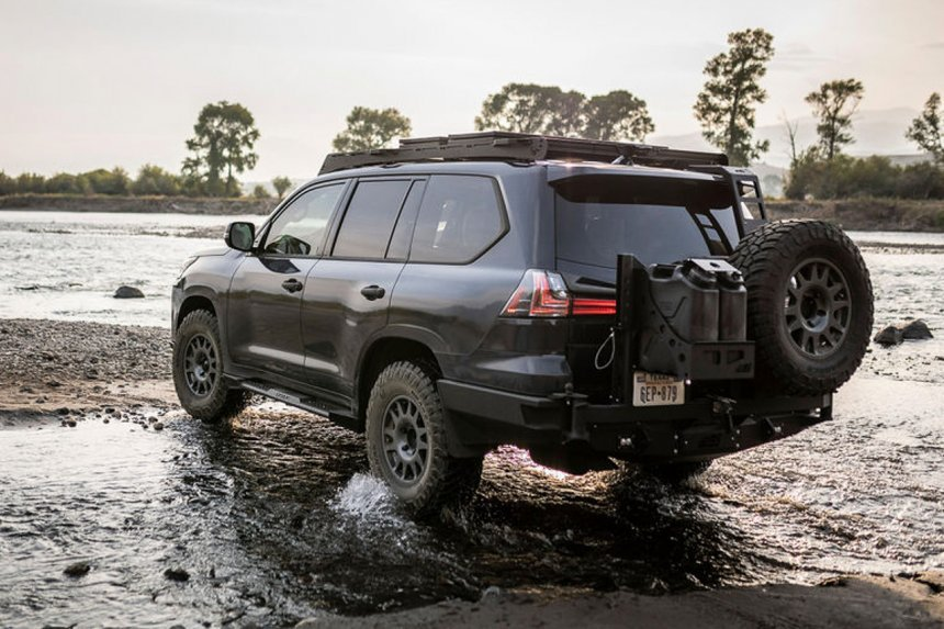 Lexus LX 570 2021 độ off-road hầm hố cực đỉnh