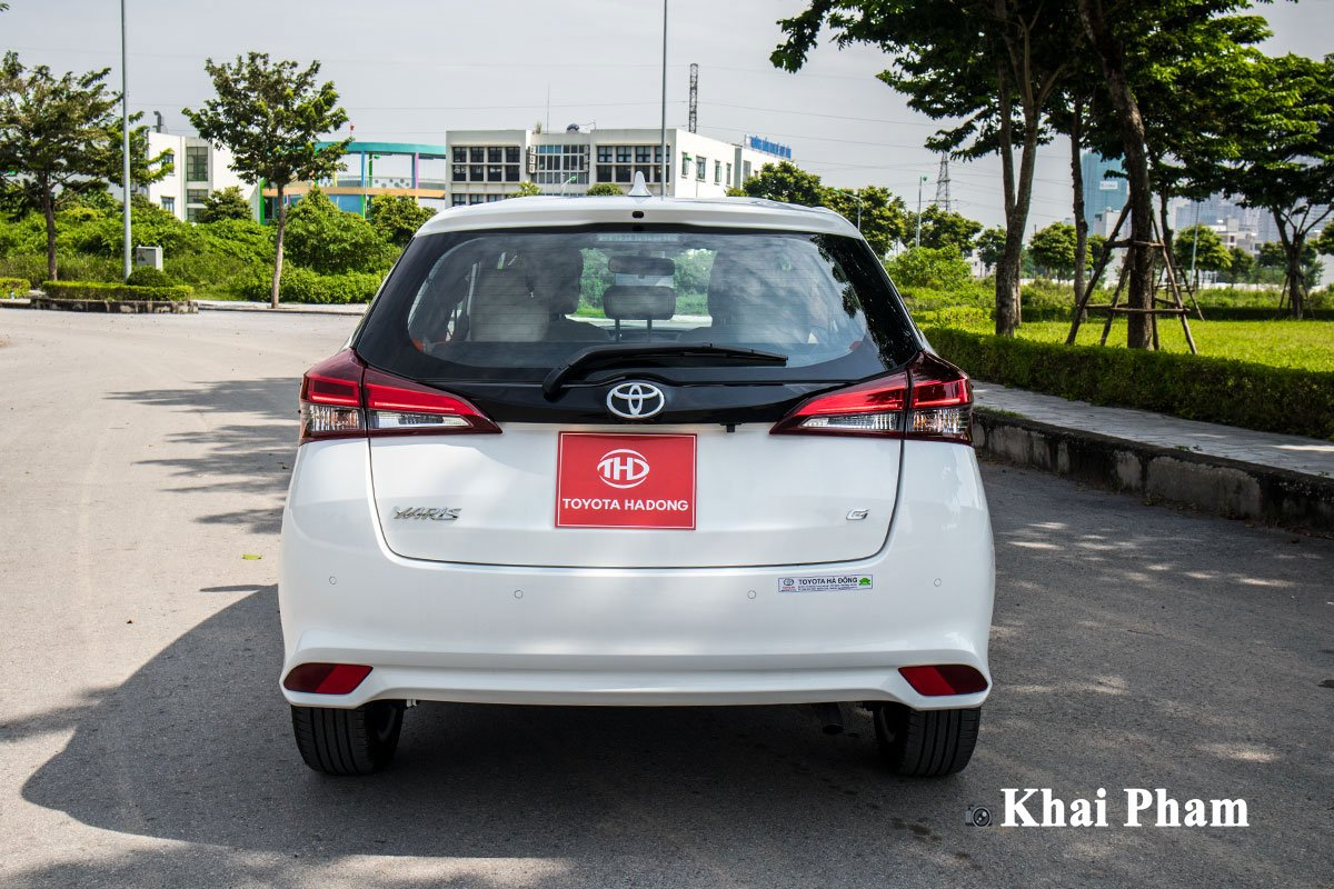 Ảnh Đuôi xe Toyota Yaris 2020