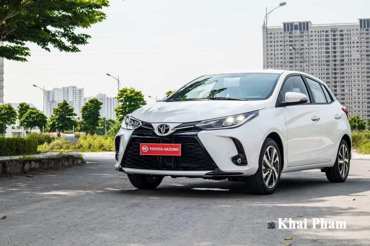 Ảnh Tổng quát xe Toyota Yaris 2020