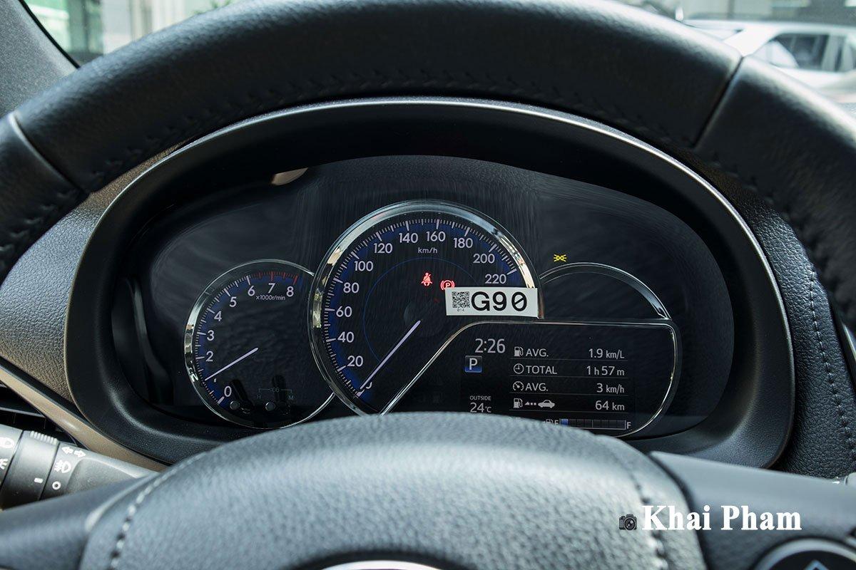 Ảnh Đồng hồ xe Toyota Yaris 2020