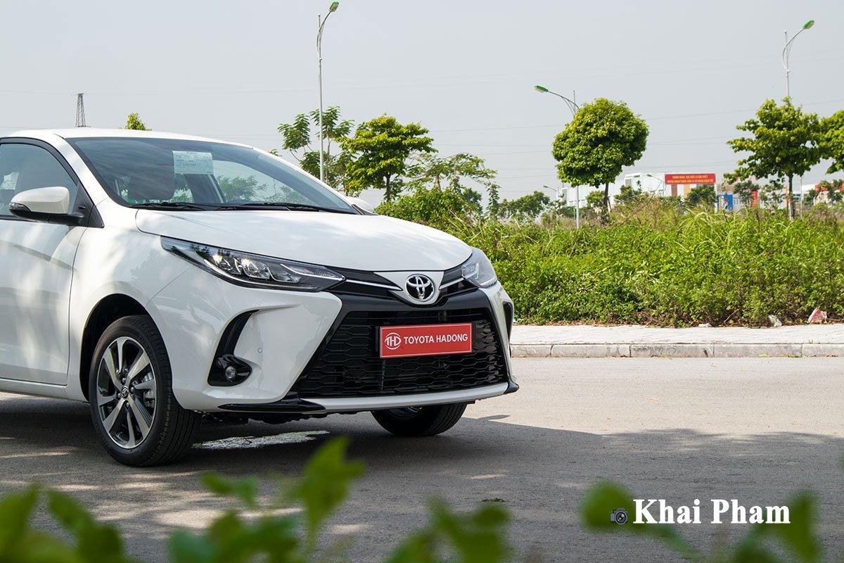 Ảnh đầu xe Toyota Yaris 2020