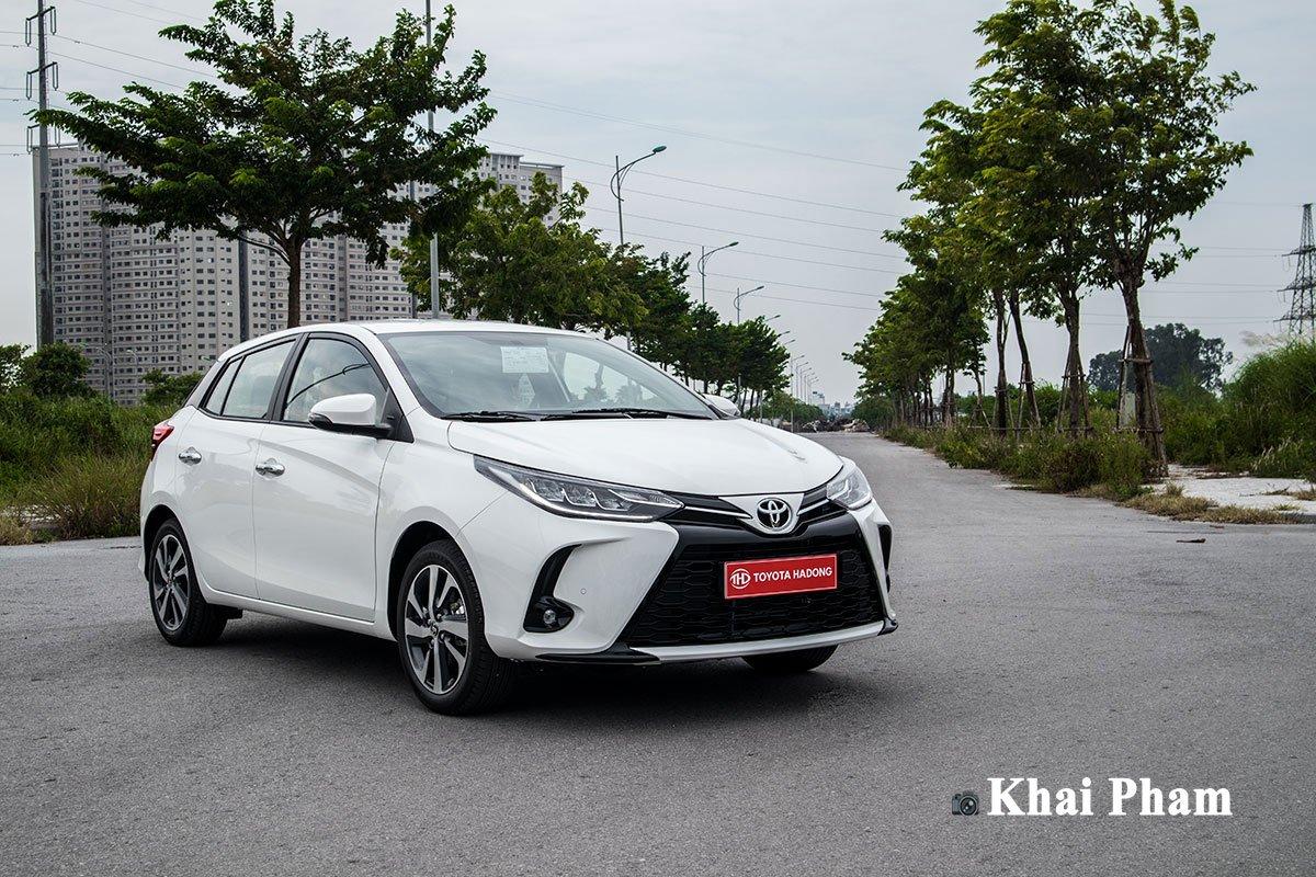 Đánh giá xe Toyota Yaris 2020 a1