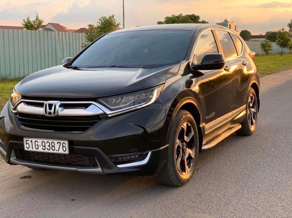 Hot - Honda CRV 1.5 Turbo bản L full option màu đen (3)