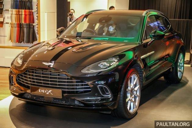 Aston Martin DBX chào giá 4,6 tỷ đồng.