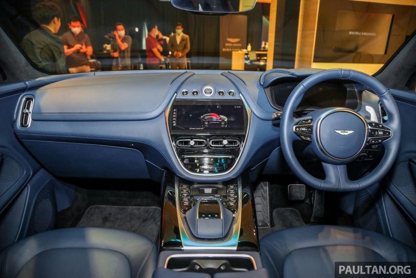 Aston Martin DBX tích hợp công nghệ tối tân nhất.
