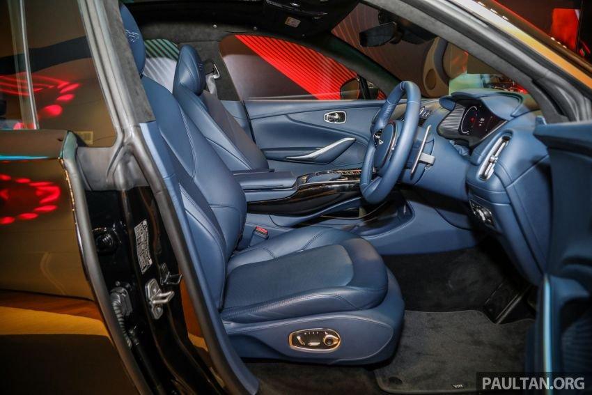 Aston Martin DBX sở hữu hàng loạt chức năng tiện nghi đầu bảng.