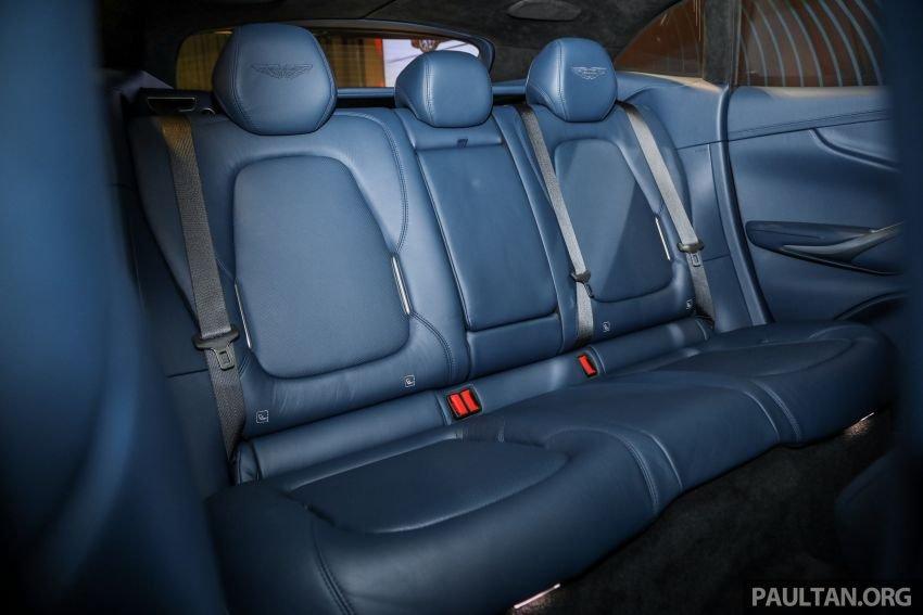 Aston Martin DBX đảm bảo không gian thoải mái tuyệt đối.
