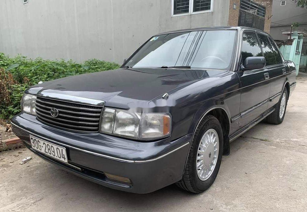 Bán Toyota Crown 3.0 AT sản xuất năm 1994, màu xám, nhập khẩu nguyên chiếc (3)