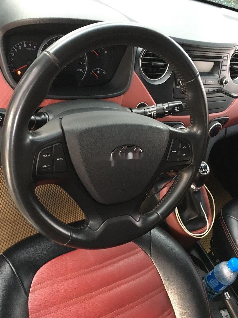 Cần bán lại xe Hyundai Grand i10 đời 2016, màu bạc, nhập khẩu (8)