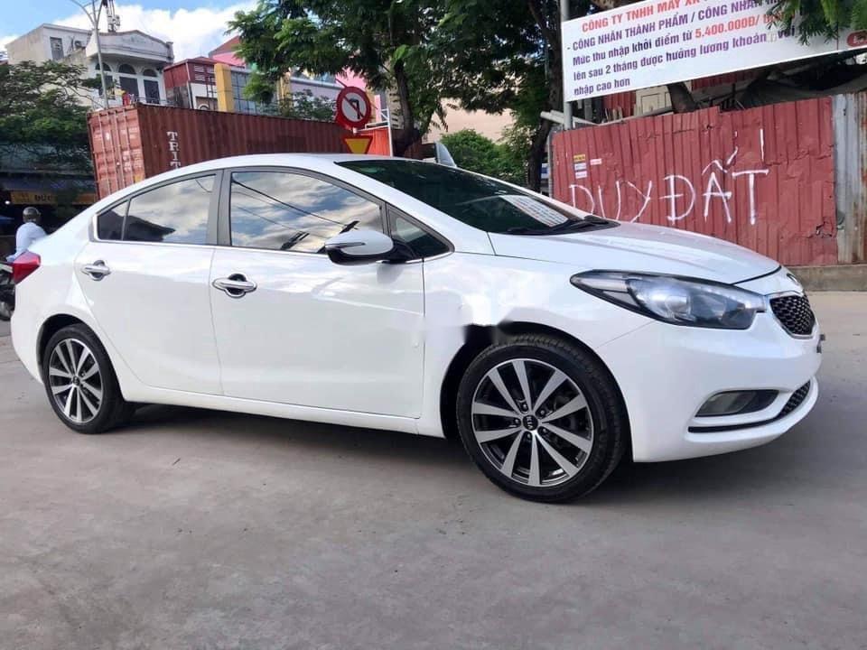 Cần bán lại xe Kia K3 sản xuất năm 2015, màu trắng, 466 triệu (2)