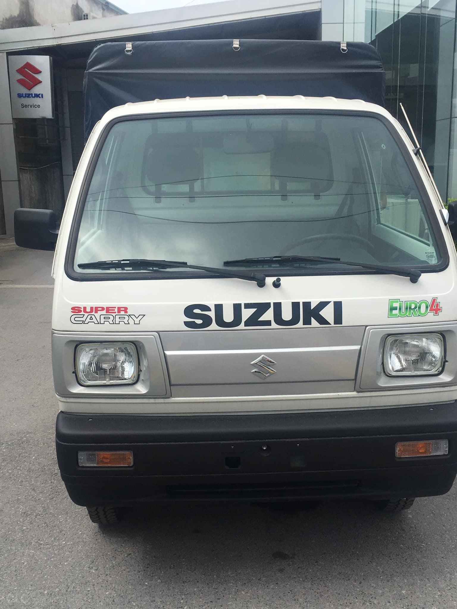 Suzuki Carry Truck, xe tải 5 tạ khuyến mãi lớn nhất năm. Trả góp từ 80 triệu nhận xe (3)