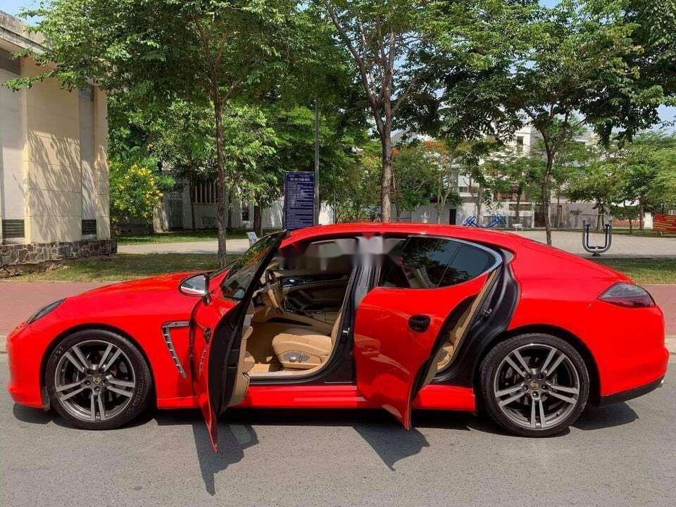Chính chủ bán Porsche Panamera đời 2010, màu đỏ, nhập khẩu nguyên chiếc (3)