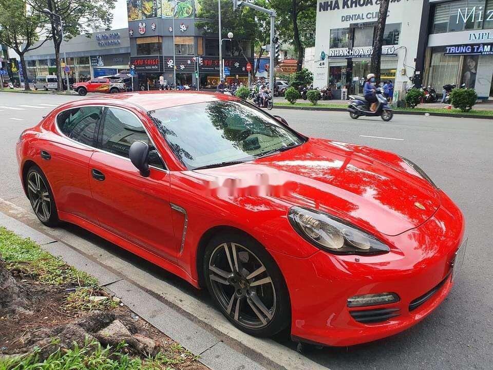 Chính chủ bán Porsche Panamera đời 2010, màu đỏ, nhập khẩu nguyên chiếc (1)