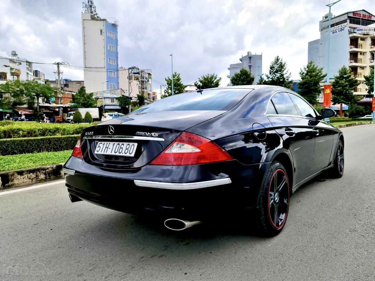 Mercedes CLS 500 nhập Đức 2007, màu đen (2)