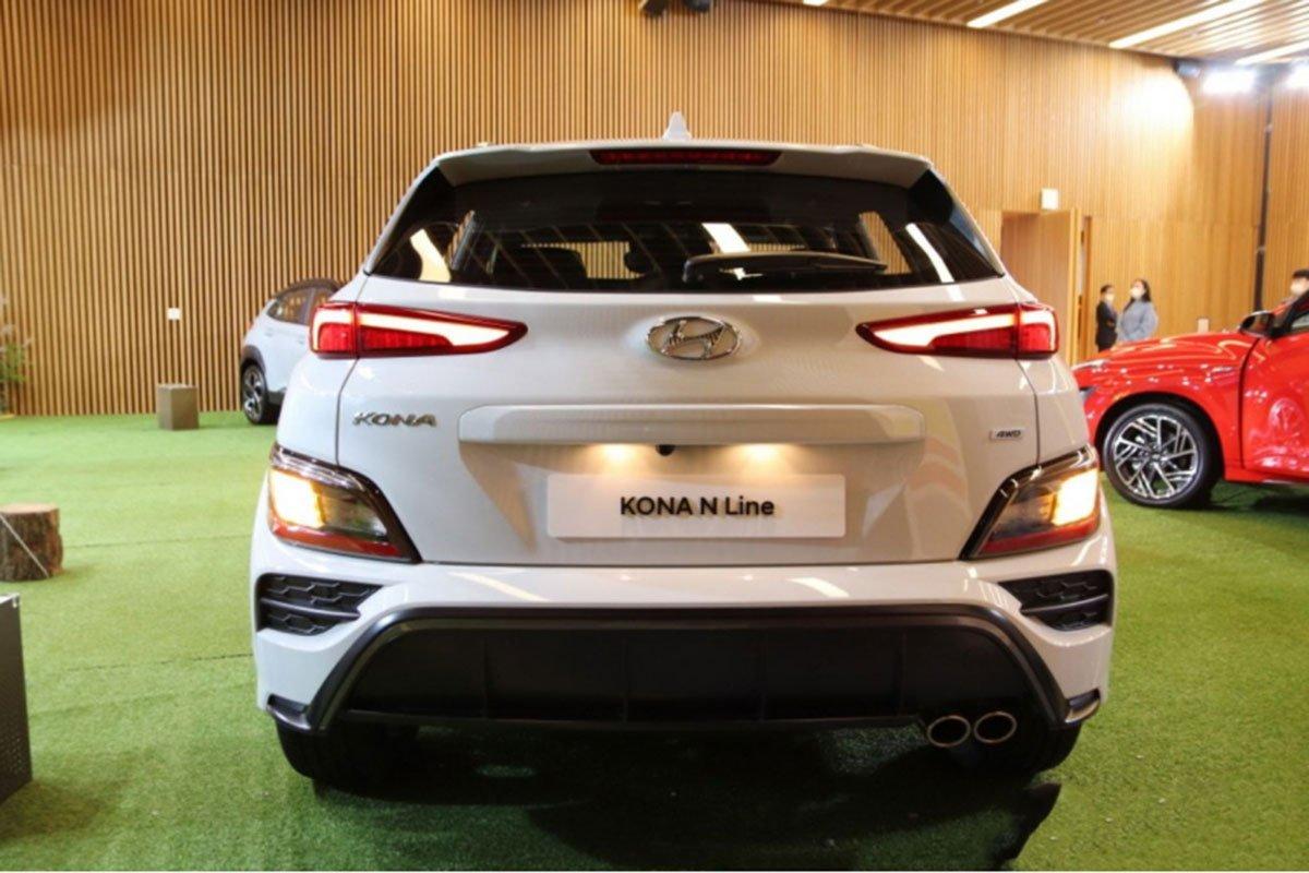 Cận cảnh Hyundai Kona 2021 thực tế, hiện đại hơn, sớm về Việt Nam đấu Kia Seltos a3