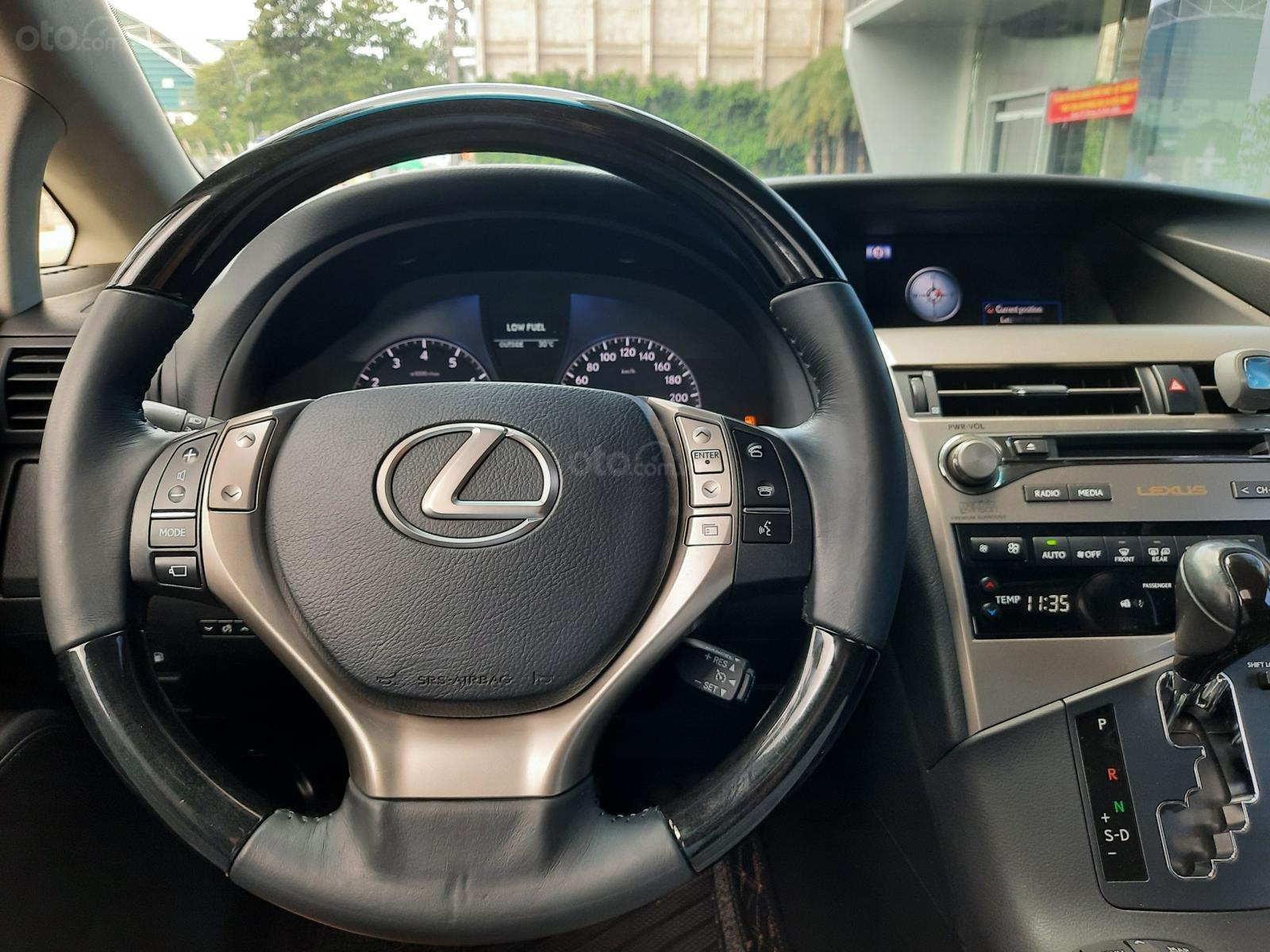 Bán Lexus RX350 V6 3.5 sản xuất 2013, đăng ký lần đầu 2014, màu trắng, nhập khẩu (3)