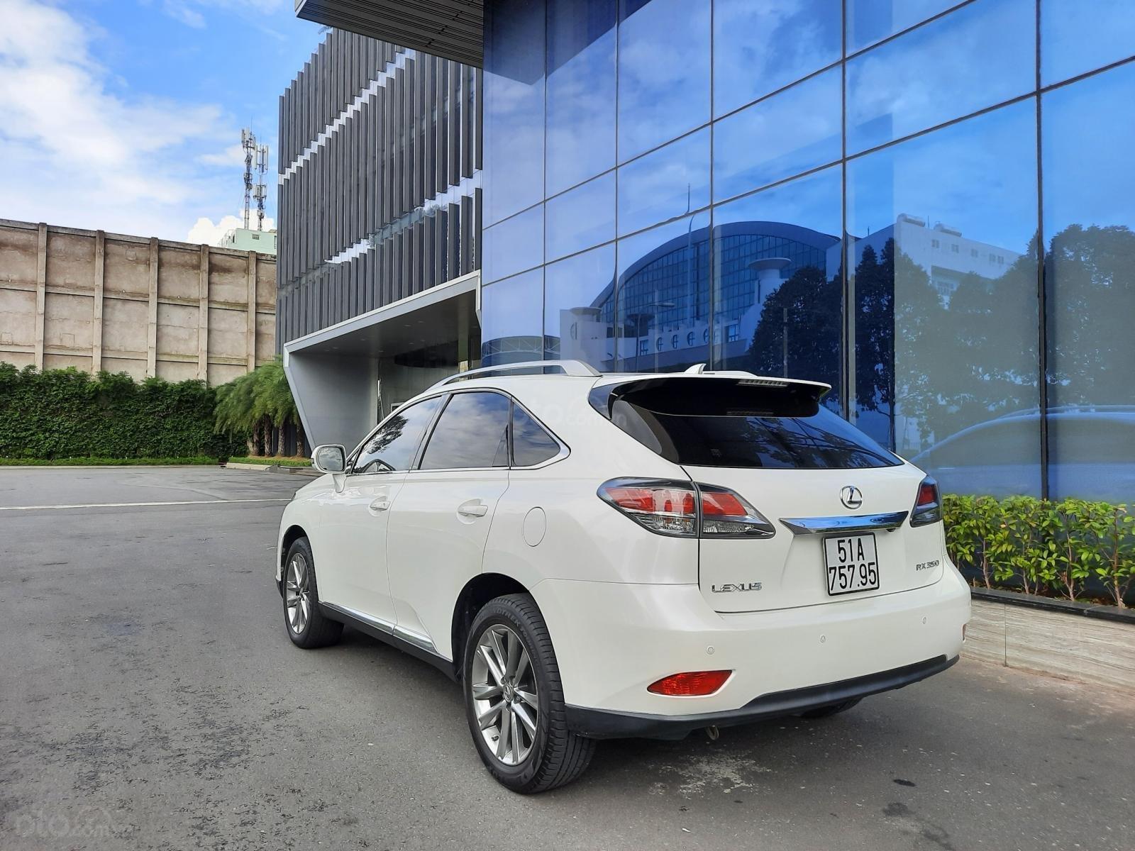Bán Lexus RX350 V6 3.5 sản xuất 2013, đăng ký lần đầu 2014, màu trắng, nhập khẩu (7)