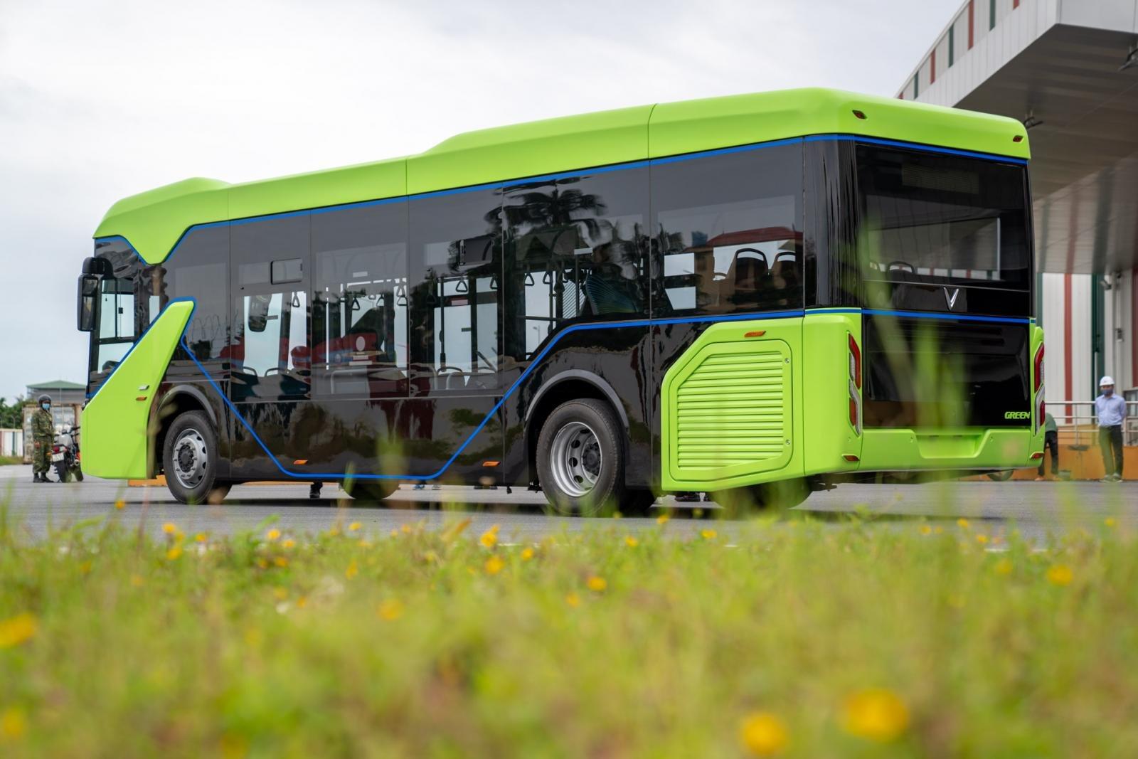 VinBus sử dụng động cơ điện thân thiện với môi trường