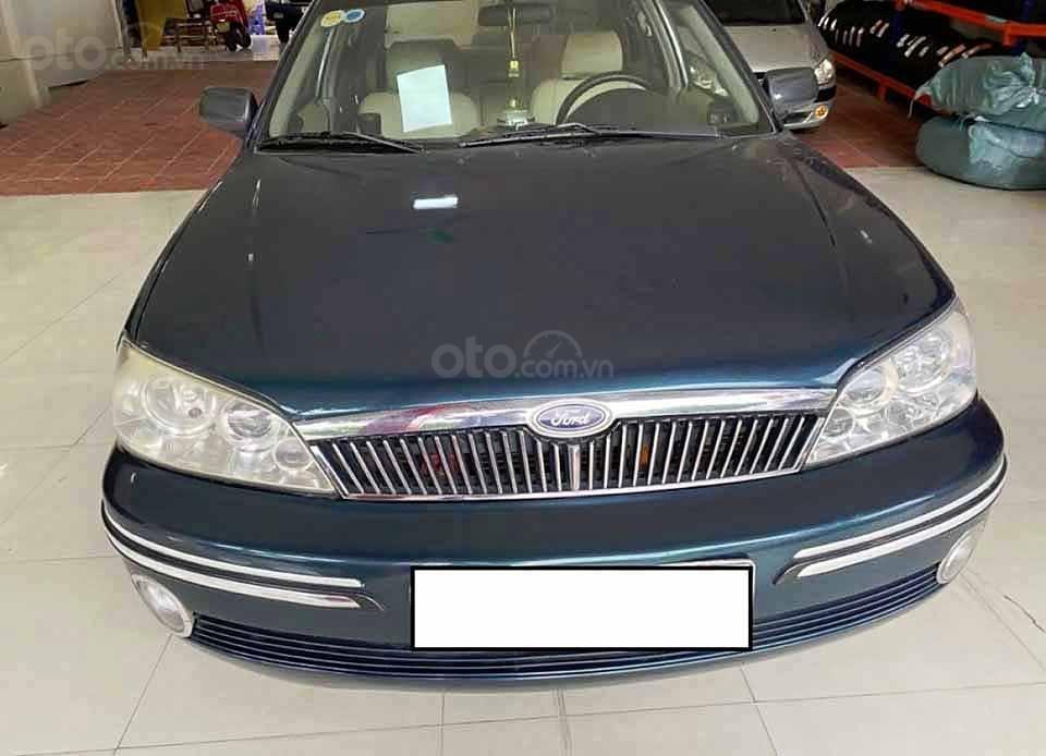 Cần bán lại xe Ford Laser năm sản xuất 2002, màu xanh lam còn mới, giá chỉ 115 triệu (3)