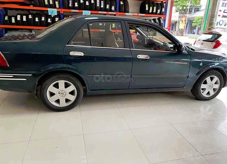 Cần bán lại xe Ford Laser năm sản xuất 2002, màu xanh lam còn mới, giá chỉ 115 triệu (1)