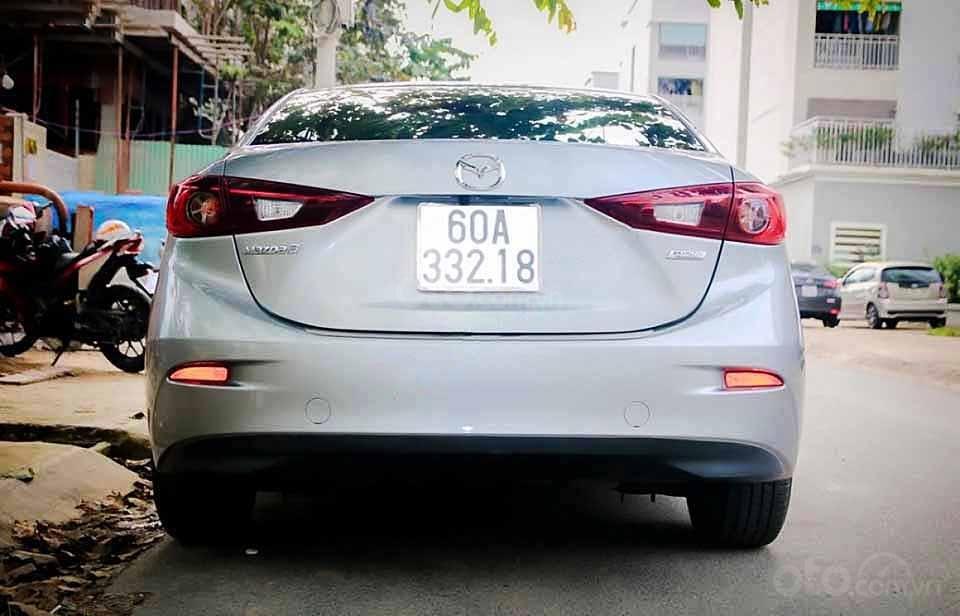 Bán xe Mazda 3 sản xuất 2016, màu bạc còn mới, 485 triệu (2)