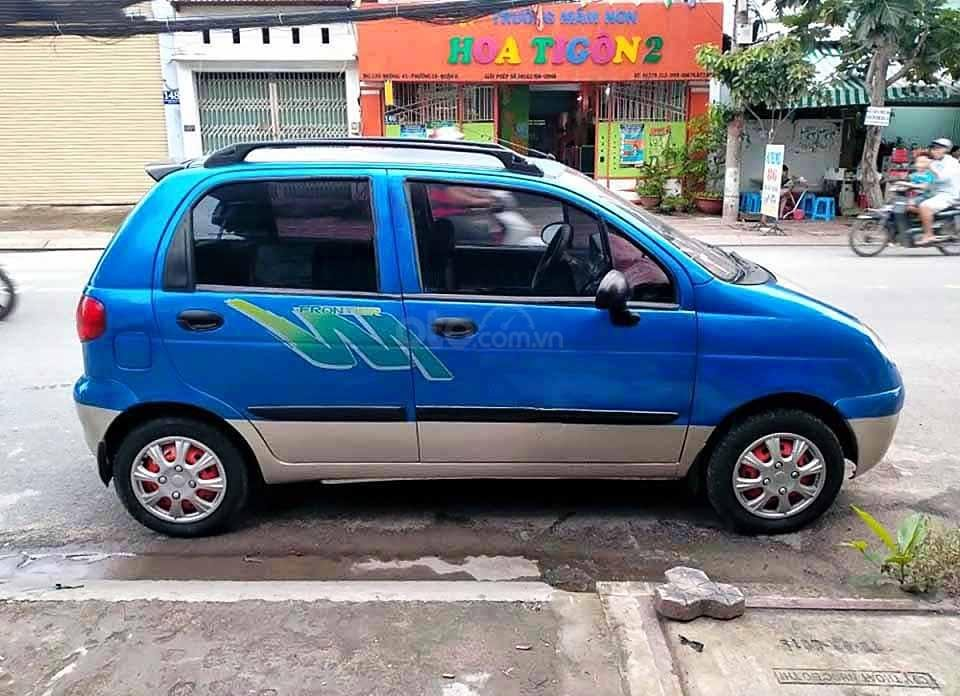 Bán ô tô Daewoo Matiz năm sản xuất 2007, màu xanh lam còn mới, giá tốt (4)