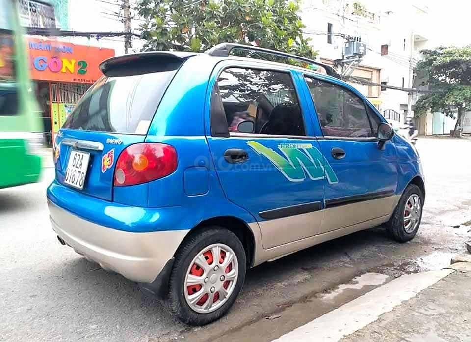 Bán ô tô Daewoo Matiz năm sản xuất 2007, màu xanh lam còn mới, giá tốt (3)