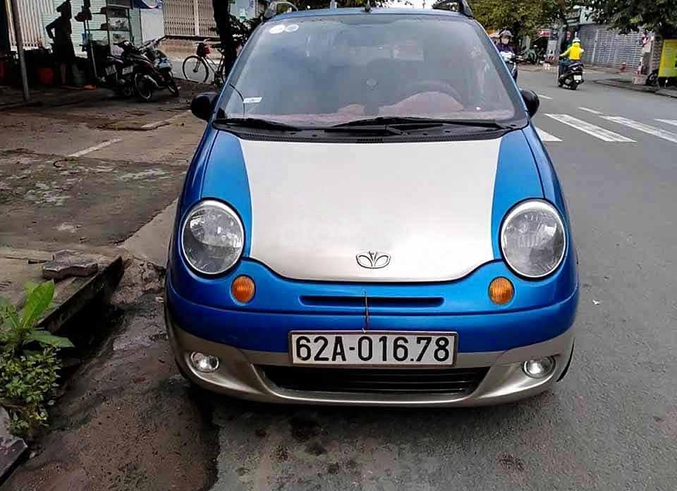 Bán ô tô Daewoo Matiz năm sản xuất 2007, màu xanh lam còn mới, giá tốt (2)