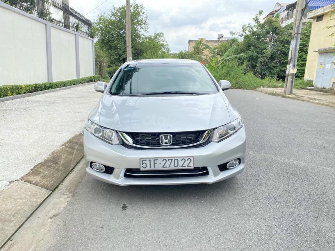 Bán Civic 2.0AT SX 2015 xe rất đẹp đi 48.000km. Hỗ trợ 60% ngân hàng bao check hãng (1)