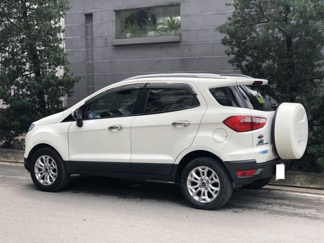 Bán Ford EcoSport Titanium sản xuất năm 2016, màu trắng (3)