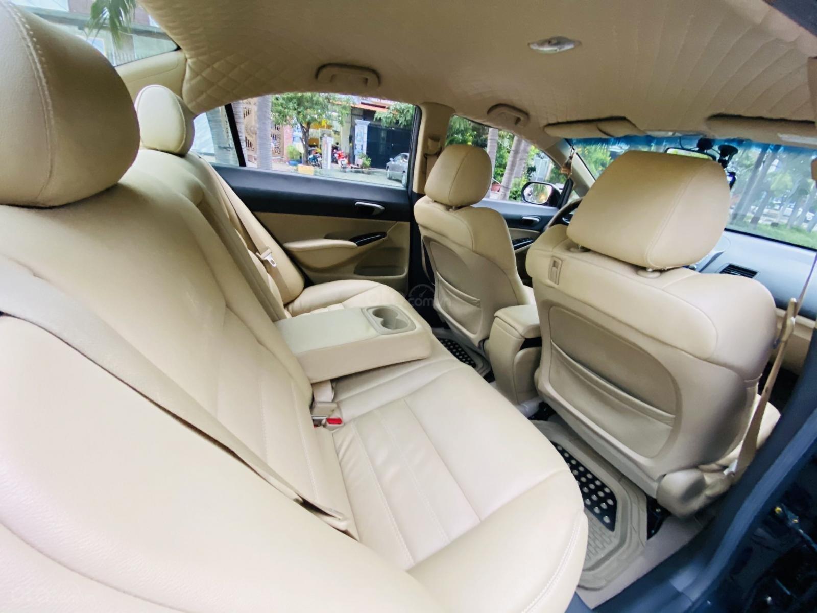 Bán xe Honda Civic đời 2009, màu đen. Xe gia đình, giá 285 triệu đồng (7)