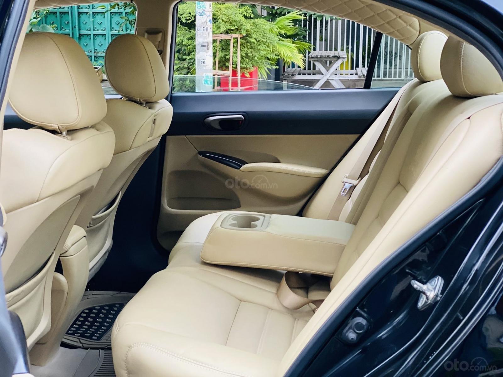 Bán xe Honda Civic đời 2009, màu đen. Xe gia đình, giá 285 triệu đồng (12)