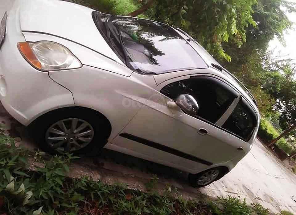 Cần bán Chevrolet Spark LT 0.8 MT năm 2010, màu trắng   (1)