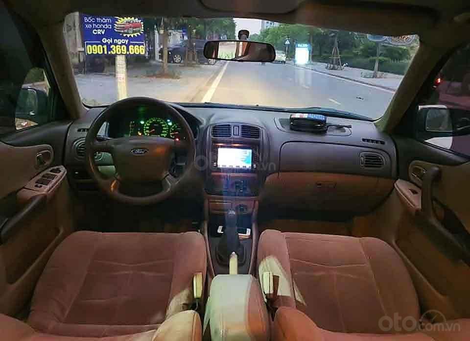 Cần bán xe Ford Laser Ghia 1.8 MT sản xuất năm 2003, màu đen, giá cạnh tranh (4)