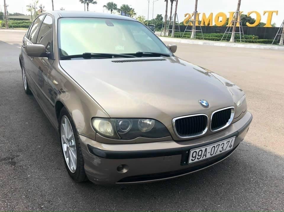 Cần bán BMW 325i SX 2003, xe đẹp không lỗi, màu vàng (4)