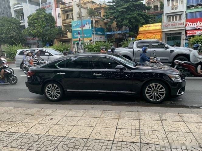 Bán Lexus LS 460L Sports Luxury năm sản xuất 2016, màu đen, nhập khẩu   (3)