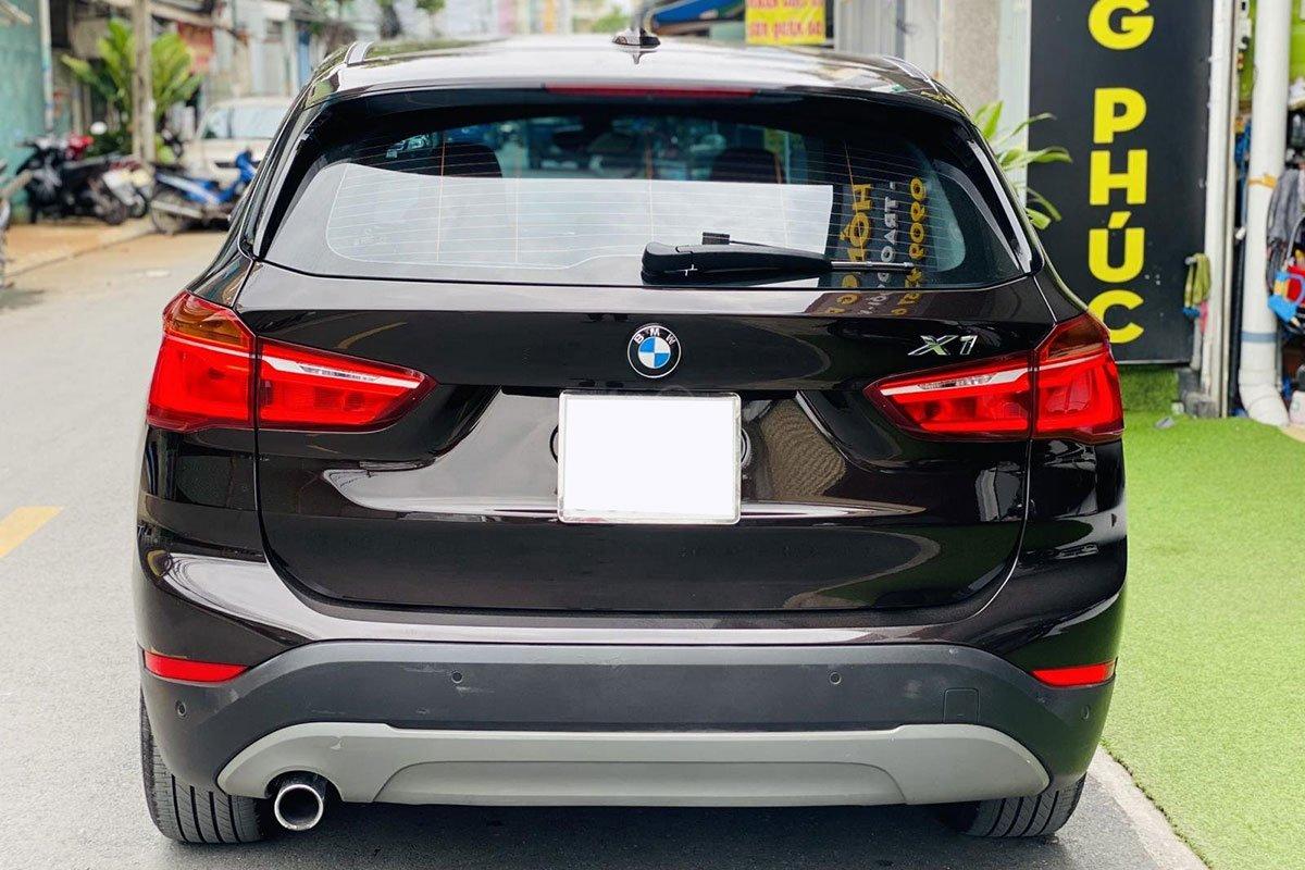 Thiết kế đuôi xe BMW X1 2017 1