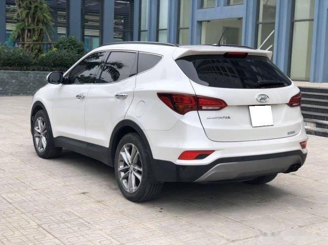 Bán Hyundai Santa Fe đời 2019, màu trắng, bản full option (3)