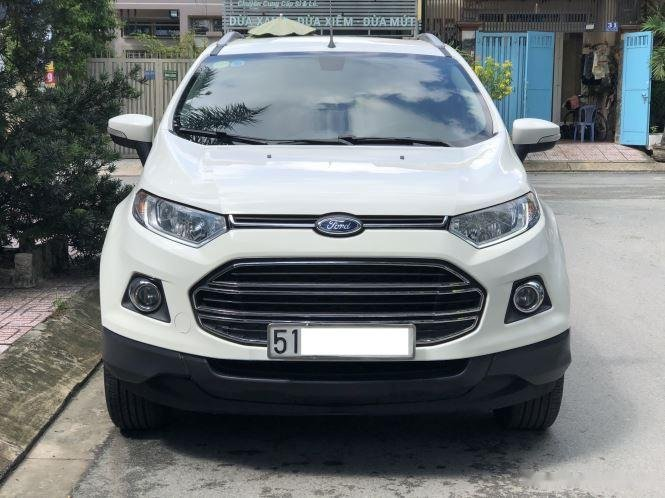 Bán Ford EcoSport Titanium sản xuất năm 2016, màu trắng (4)