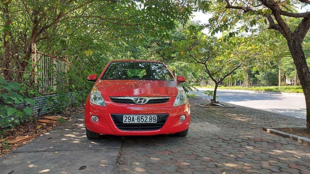 Bán Hyundai i20 sản xuất 2011, màu đỏ, nhập khẩu (1)