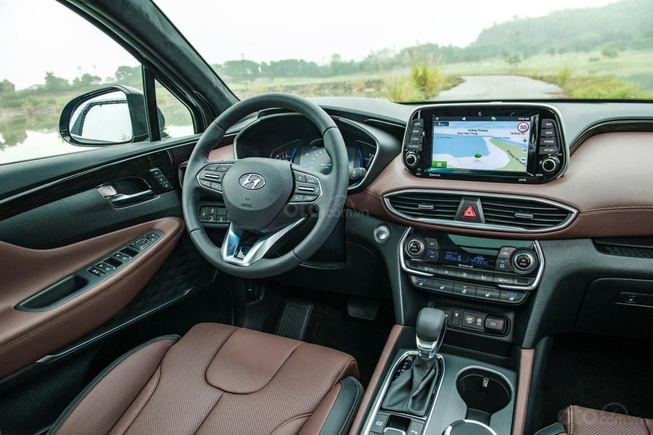 Hyundai Santa Fe đủ màu giảm ngay - siêu khuyến mãi khủng - Giảm ngay 50% thuế trước bạ (2)