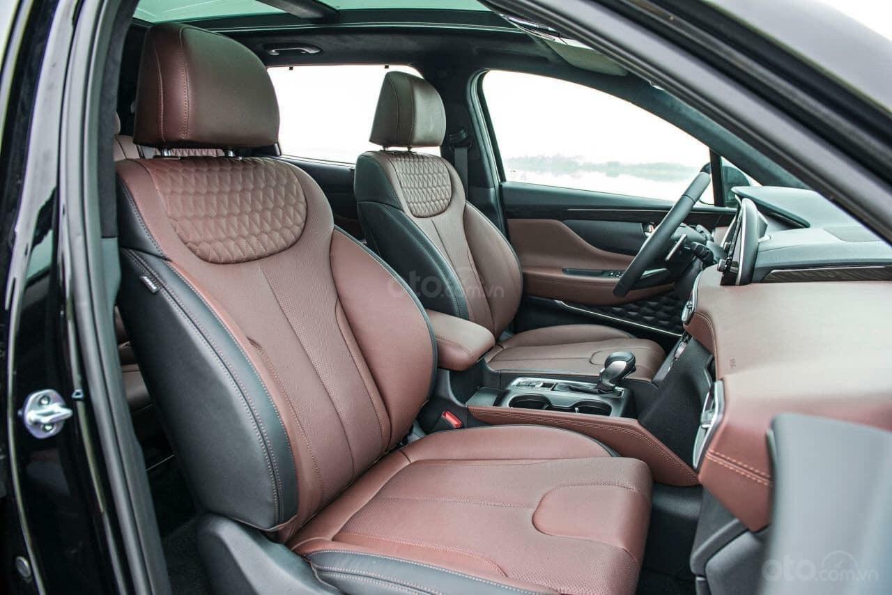 Hyundai Santa Fe đủ màu giảm ngay - siêu khuyến mãi khủng - Giảm ngay 50% thuế trước bạ (3)