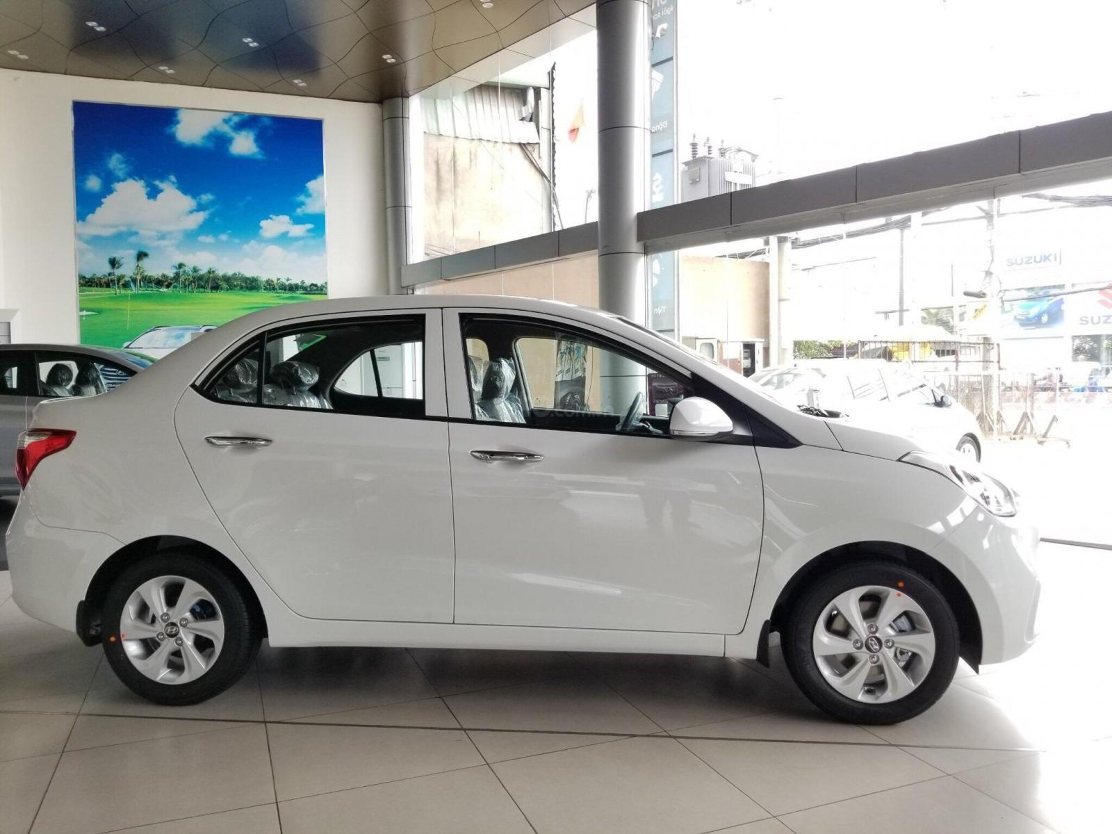 Hyundai I10 giá giảm hết ga - thả ga mua xe - chỉ còn 2 tháng hỗ trợ 50% thuế trước bạ - hỗ trợ ĐK grab (2)