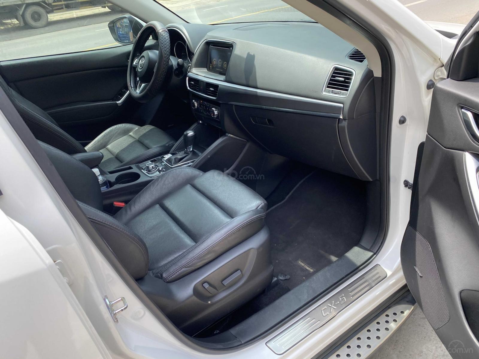 Cần bán xe Mazda CX 5 đăng ký 2016, màu trắng ít sử dụng, giá tốt 708 triệu đồng (8)